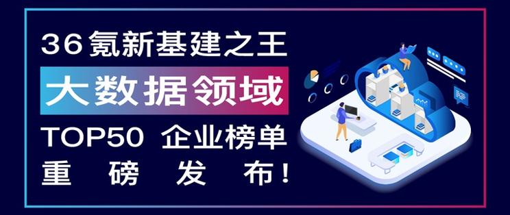 滴普科技入选36氪中国新基建之王「大数据领域」TOP50